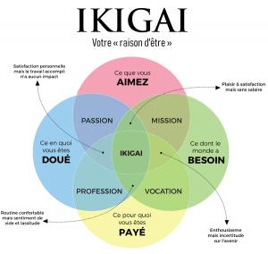 ikigai, raison d'être, mission de vie, pourquoi, objectif